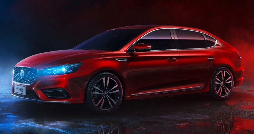 New MG6 unveiled, goes on sale in China in November Image #714345