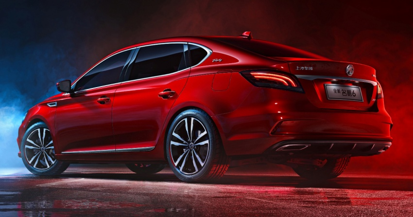 New MG6 unveiled, goes on sale in China in November Image #714346