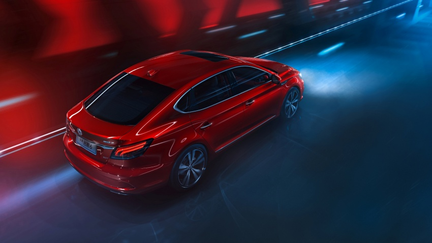 New MG6 unveiled, goes on sale in China in November Image #714347