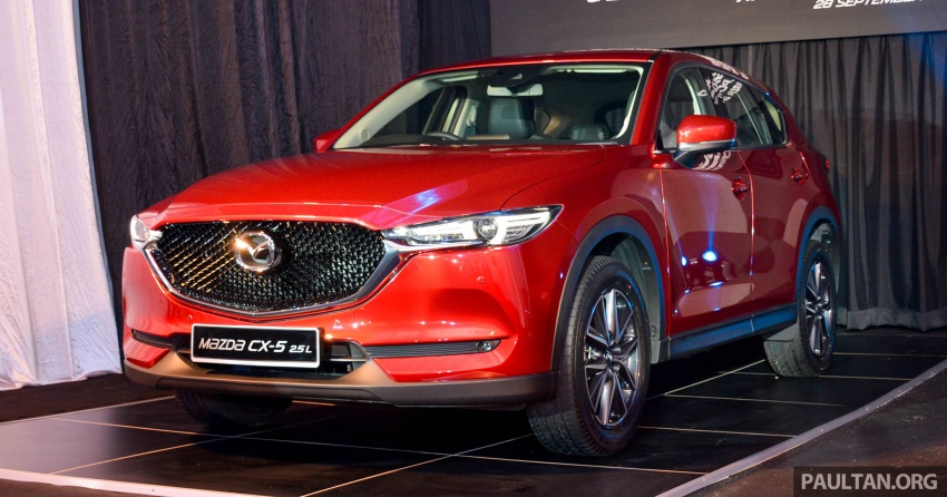 2017 Mazda CX-5 previewed in Malaysia – full spec sheets out, petrol and diesel variants, from RM134k Image #716052