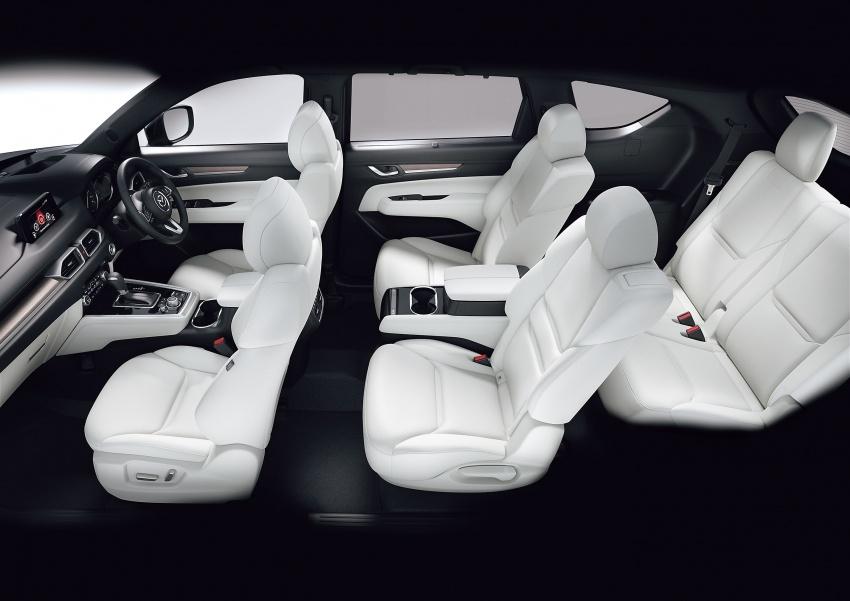 Mazda CX-8 – SUV 2.2L SkyActiv-D dengan tiga-barisan tempat duduk telah dilancarkan di Jepun Image #711228