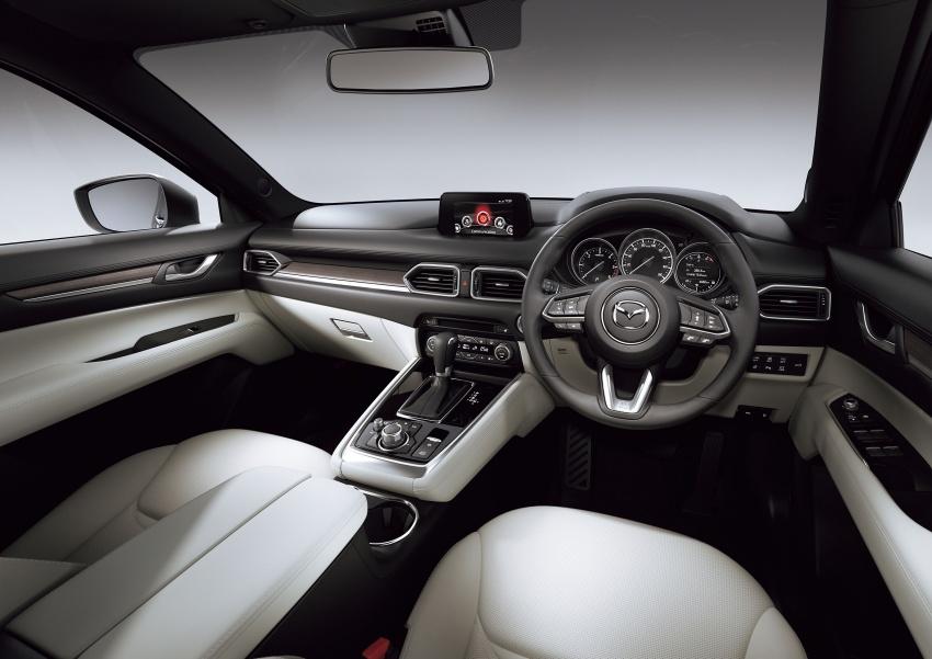 Mazda CX-8 – SUV 2.2L SkyActiv-D dengan tiga-barisan tempat duduk telah dilancarkan di Jepun Image #711227
