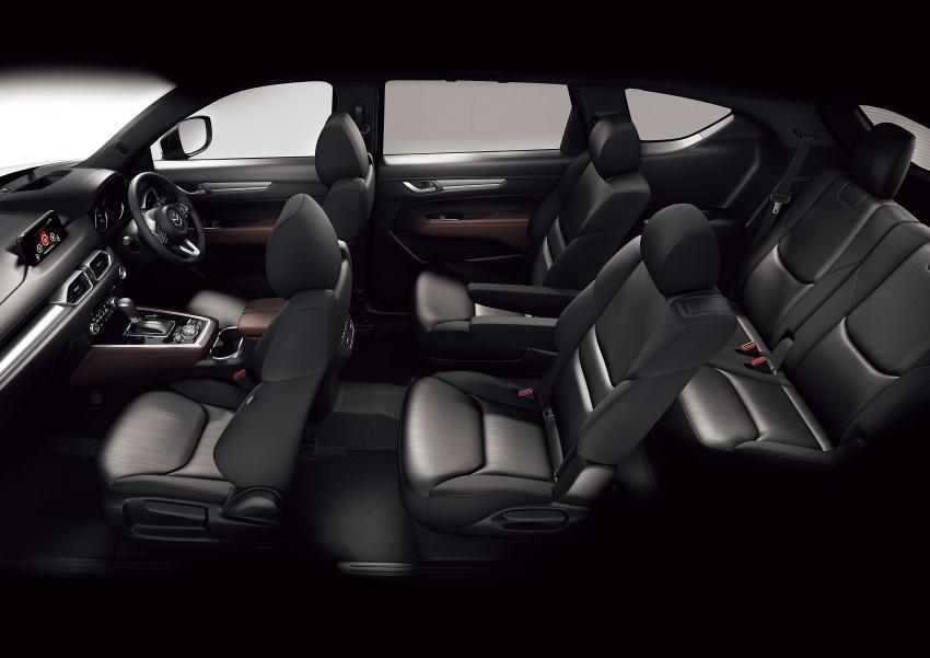 Mazda CX-8 – SUV 2.2L SkyActiv-D dengan tiga-barisan tempat duduk telah dilancarkan di Jepun Image #711225