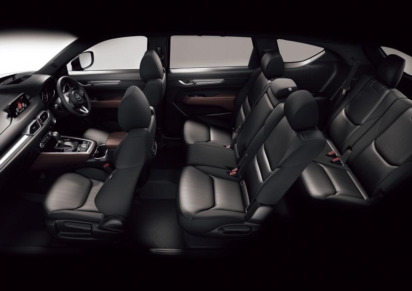 Mazda CX-8 – SUV 2.2L SkyActiv-D dengan tiga-barisan tempat duduk telah dilancarkan di Jepun Image #711224