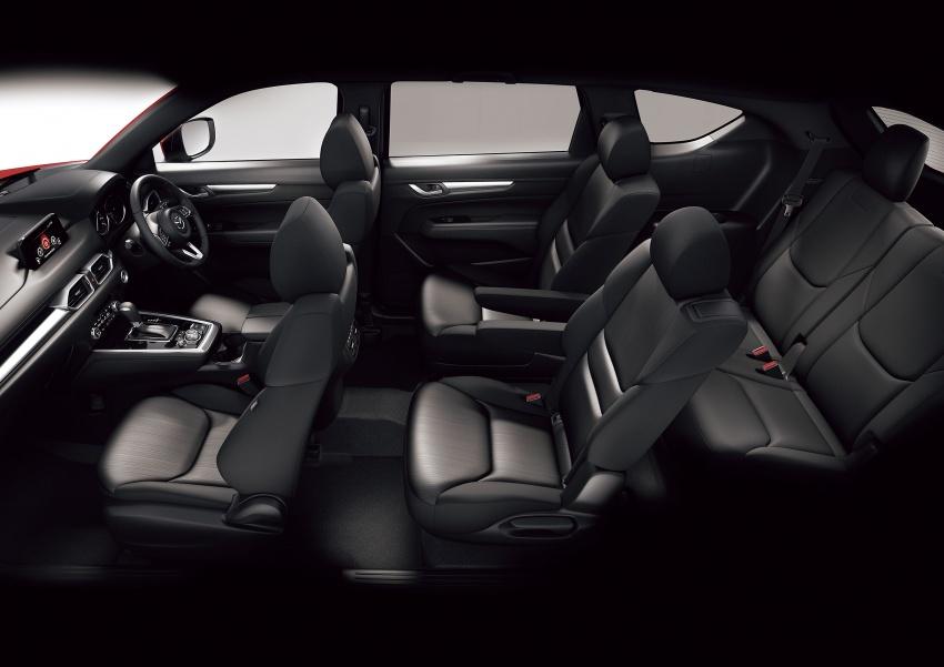Mazda CX-8 – SUV 2.2L SkyActiv-D dengan tiga-barisan tempat duduk telah dilancarkan di Jepun Image #711221
