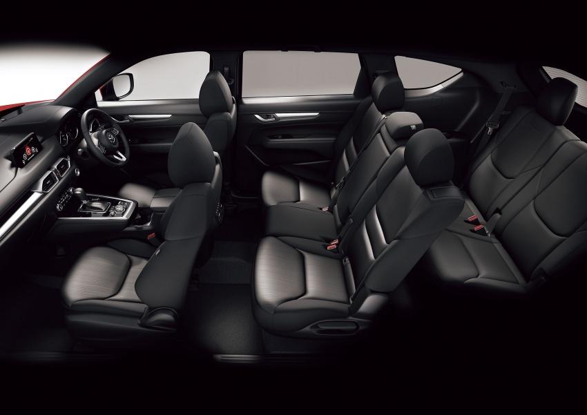 Mazda CX-8 – SUV 2.2L SkyActiv-D dengan tiga-barisan tempat duduk telah dilancarkan di Jepun Image #711220