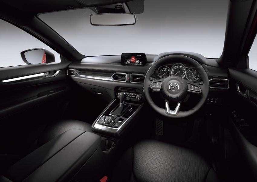 Mazda CX-8 – SUV 2.2L SkyActiv-D dengan tiga-barisan tempat duduk telah dilancarkan di Jepun Image #711219