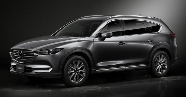 Mazda Cx 8 Three Row Suv Makes Its Debut In Japan