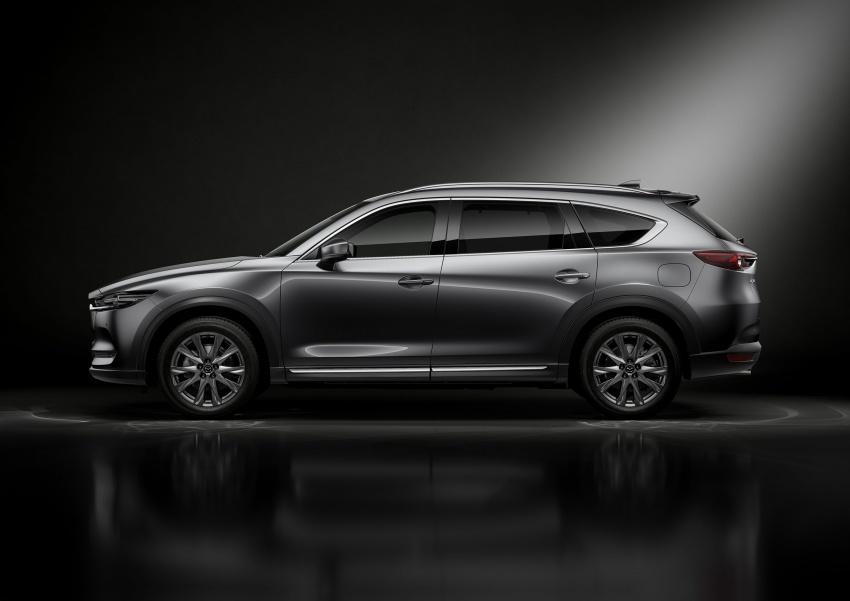 Mazda CX-8 – SUV 2.2L SkyActiv-D dengan tiga-barisan tempat duduk telah dilancarkan di Jepun Image #711213
