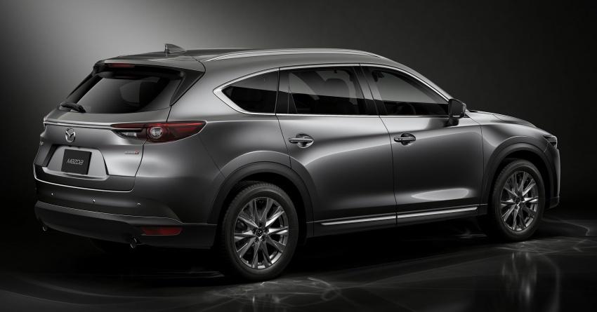Mazda CX-8 – SUV 2.2L SkyActiv-D dengan tiga-barisan tempat duduk telah dilancarkan di Jepun Image #711211
