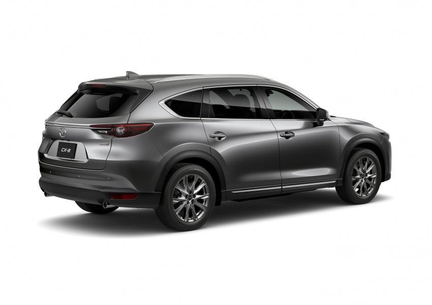 Mazda CX-8 – SUV 2.2L SkyActiv-D dengan tiga-barisan tempat duduk telah dilancarkan di Jepun Image #711238