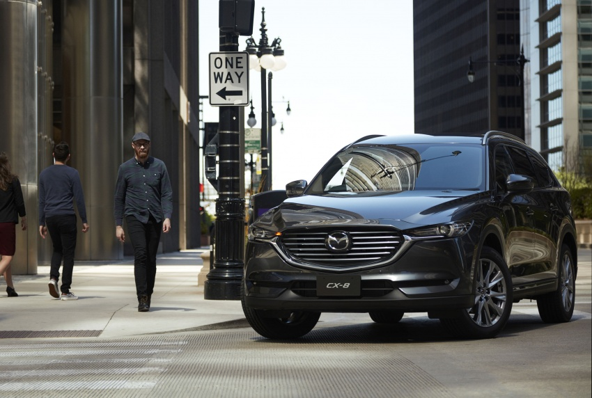 Mazda CX-8 – SUV 2.2L SkyActiv-D dengan tiga-barisan tempat duduk telah dilancarkan di Jepun Image #711210