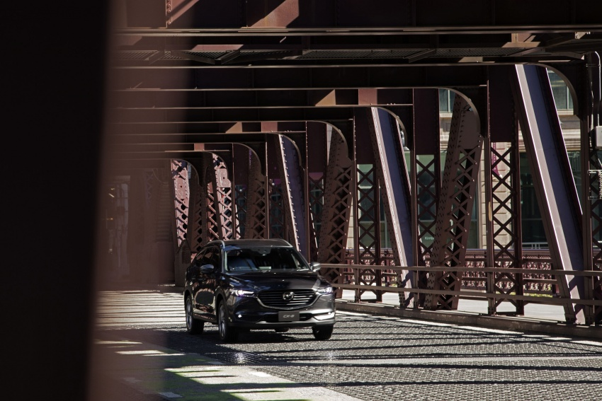 Mazda CX-8 – SUV 2.2L SkyActiv-D dengan tiga-barisan tempat duduk telah dilancarkan di Jepun Image #711203