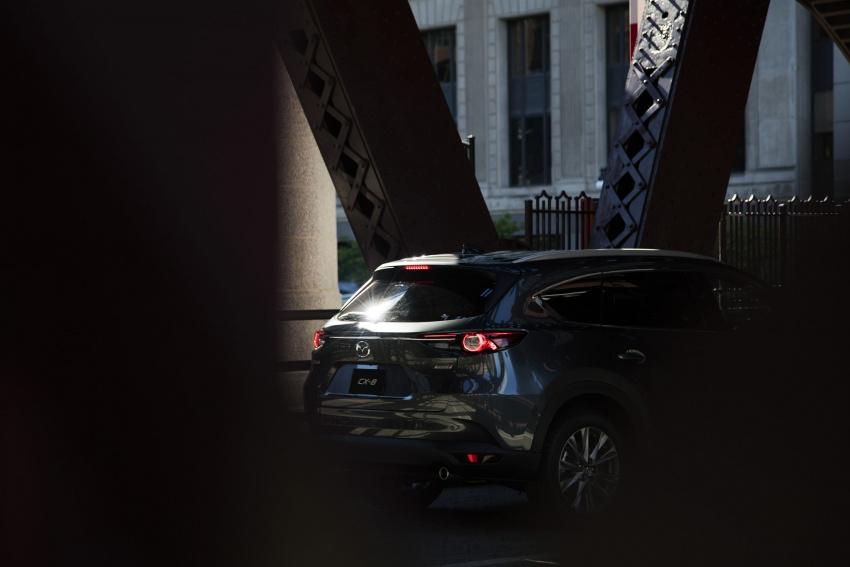Mazda CX-8 – SUV 2.2L SkyActiv-D dengan tiga-barisan tempat duduk telah dilancarkan di Jepun Image #711200