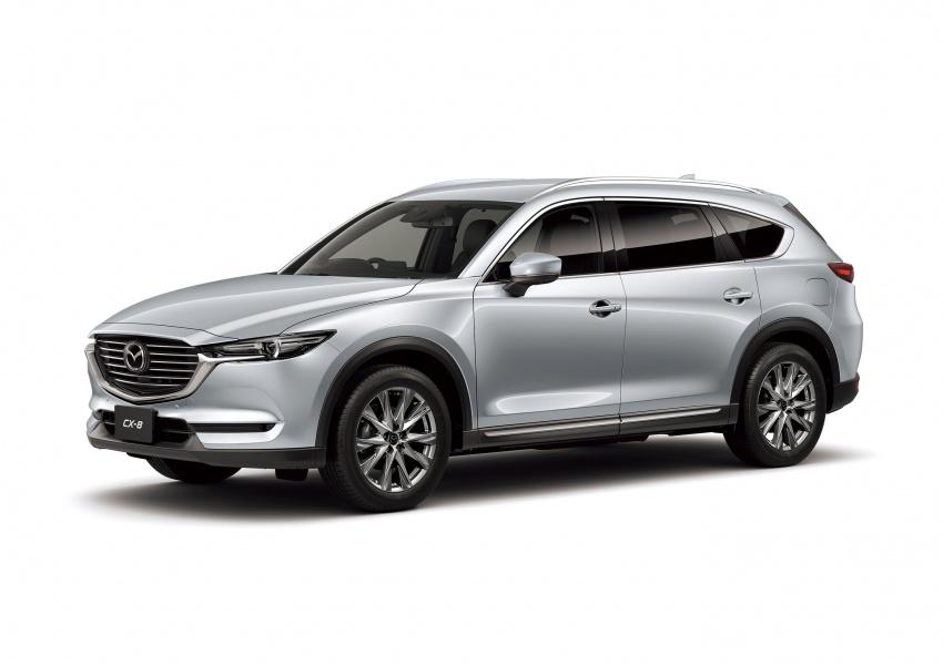 Mazda CX-8 – SUV 2.2L SkyActiv-D dengan tiga-barisan tempat duduk telah dilancarkan di Jepun Image #711236