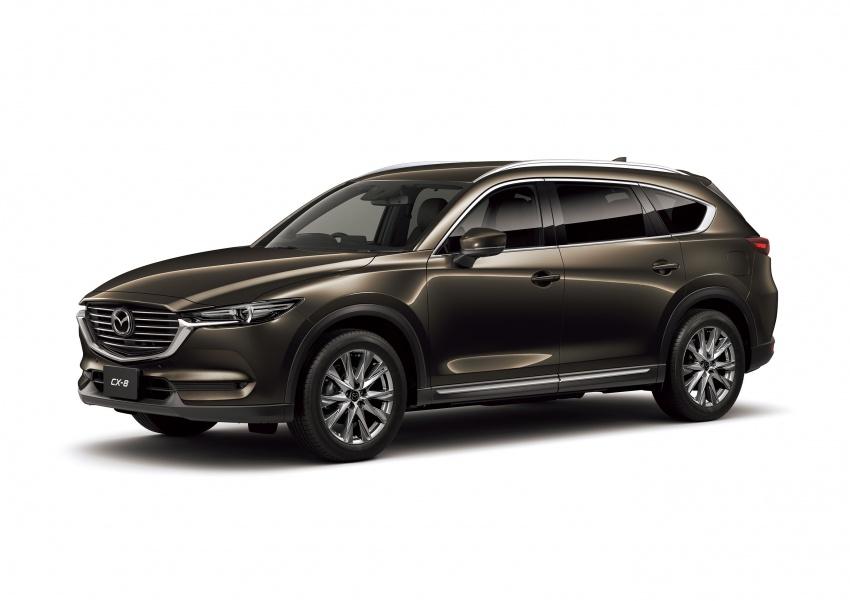 Mazda CX-8 – SUV 2.2L SkyActiv-D dengan tiga-barisan tempat duduk telah dilancarkan di Jepun Image #711235