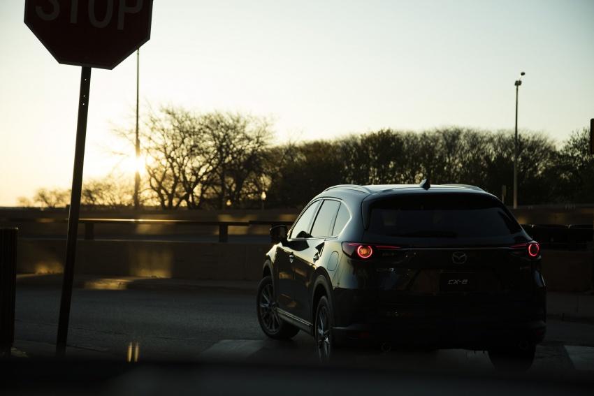 Mazda CX-8 – SUV 2.2L SkyActiv-D dengan tiga-barisan tempat duduk telah dilancarkan di Jepun Image #711178
