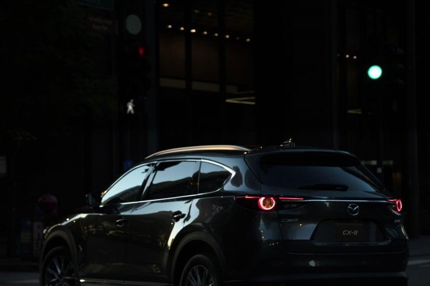 Mazda CX-8 – SUV 2.2L SkyActiv-D dengan tiga-barisan tempat duduk telah dilancarkan di Jepun Image #711175