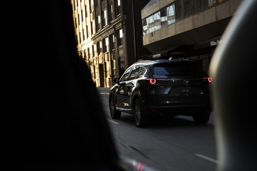 Mazda CX-8 – SUV 2.2L SkyActiv-D dengan tiga-barisan tempat duduk telah dilancarkan di Jepun Image #711174