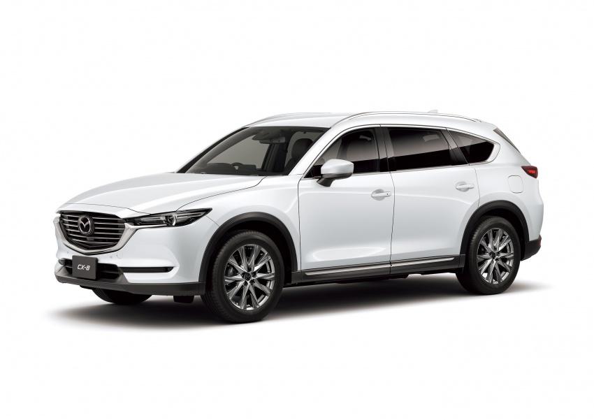 Mazda CX-8 – SUV 2.2L SkyActiv-D dengan tiga-barisan tempat duduk telah dilancarkan di Jepun Image #711234