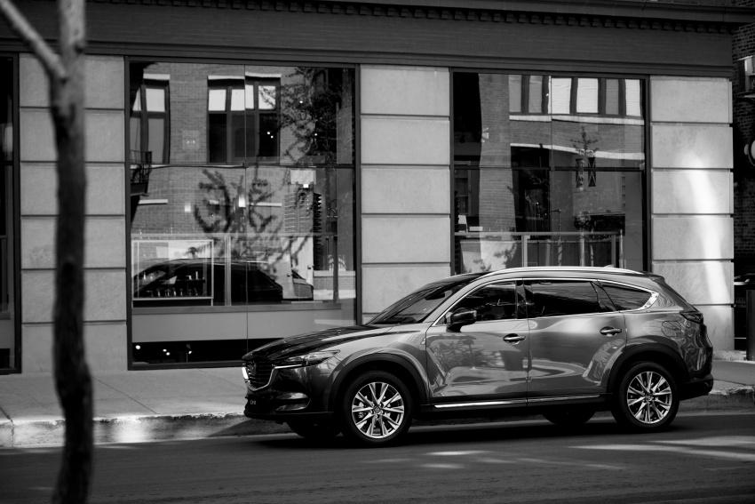 Mazda CX-8 – SUV 2.2L SkyActiv-D dengan tiga-barisan tempat duduk telah dilancarkan di Jepun Image #711161