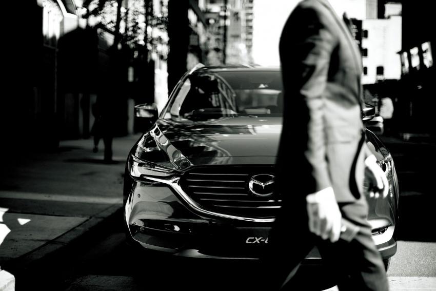 Mazda CX-8 – SUV 2.2L SkyActiv-D dengan tiga-barisan tempat duduk telah dilancarkan di Jepun Image #711159