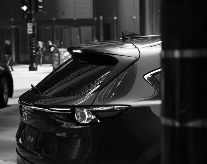 Mazda CX-8 – SUV 2.2L SkyActiv-D dengan tiga-barisan tempat duduk telah dilancarkan di Jepun Image #711148