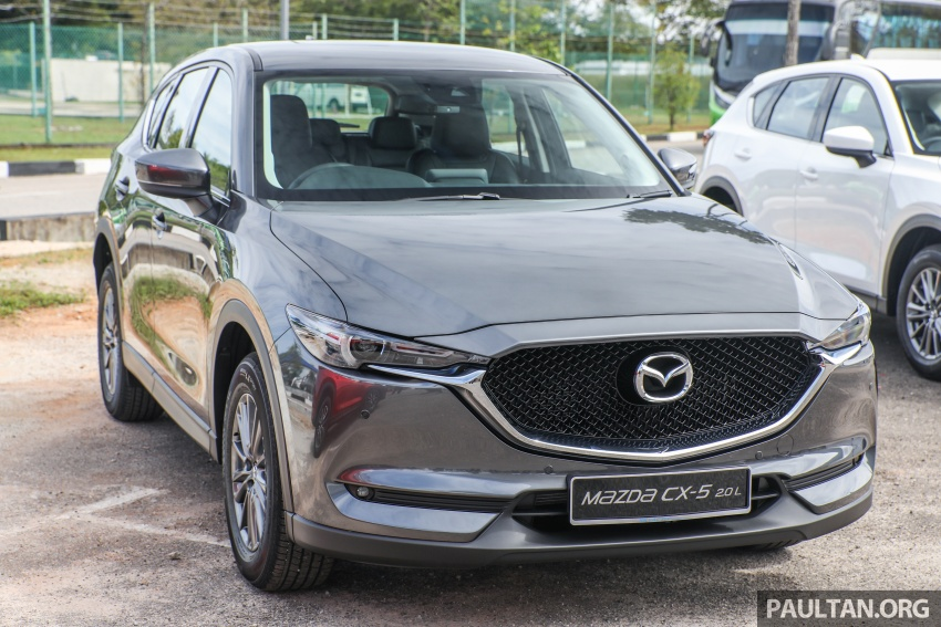 2017 Mazda CX-5 previewed in Malaysia – full spec sheets out, petrol and diesel variants, from RM134k Image #716265