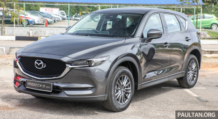 2017 Mazda CX-5 previewed in Malaysia – full spec sheets out, petrol and diesel variants, from RM134k Image #716266