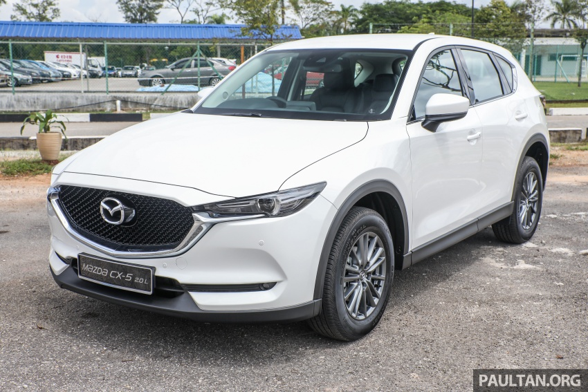 2017 Mazda CX-5 previewed in Malaysia – full spec sheets out, petrol and diesel variants, from RM134k Image #716267