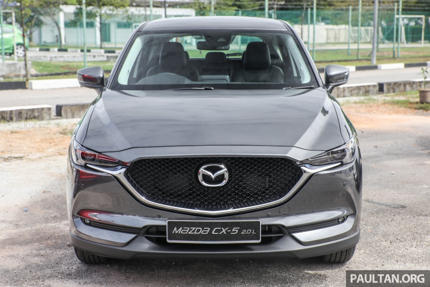 2017 Mazda CX-5 previewed in Malaysia – full spec sheets out, petrol and diesel variants, from RM134k Image #716272