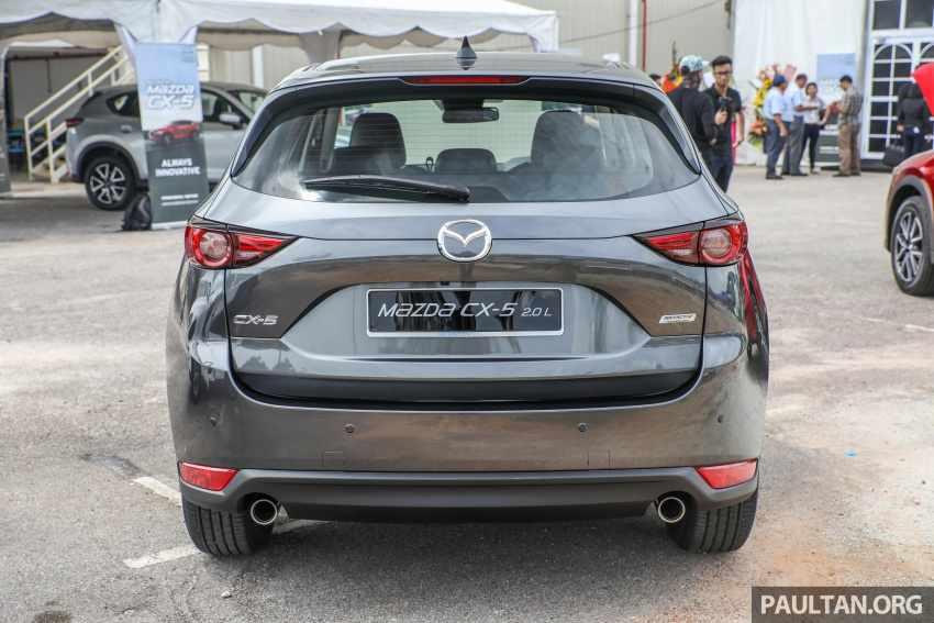 2017 Mazda CX-5 previewed in Malaysia – full spec sheets out, petrol and diesel variants, from RM134k Image #716274