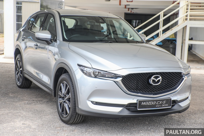 2017 Mazda CX-5 previewed in Malaysia – full spec sheets out, petrol and diesel variants, from RM134k Image #716453