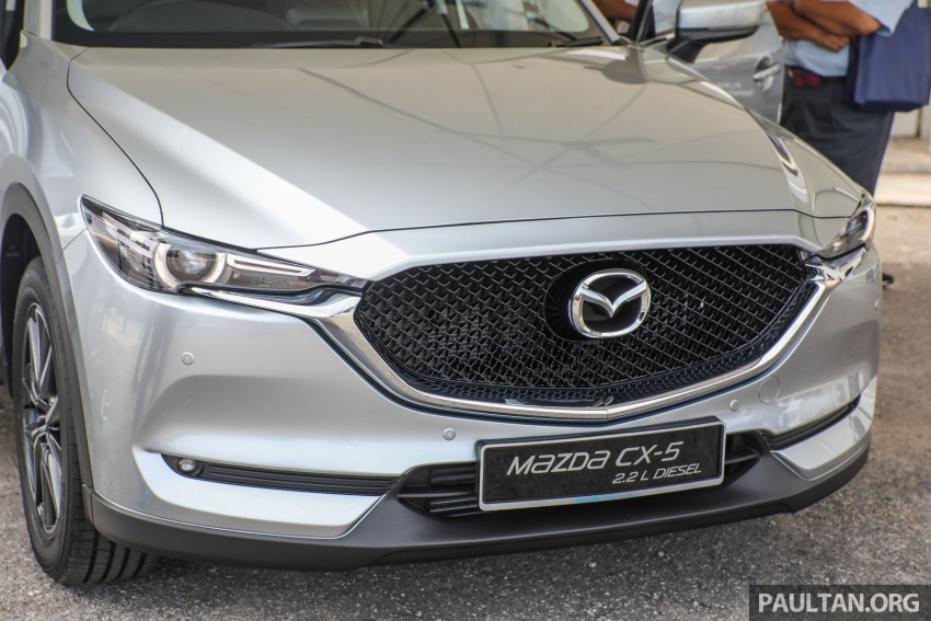 2017 Mazda CX-5 previewed in Malaysia – full spec sheets out, petrol and diesel variants, from RM134k Image #716463