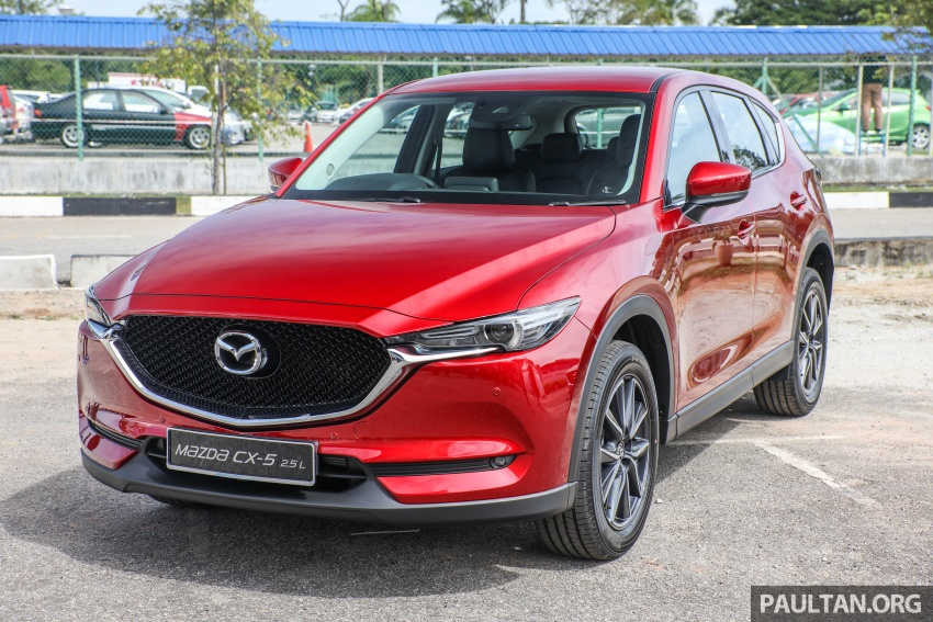 2017 Mazda CX-5 previewed in Malaysia – full spec sheets out, petrol and diesel variants, from RM134k Image #716350