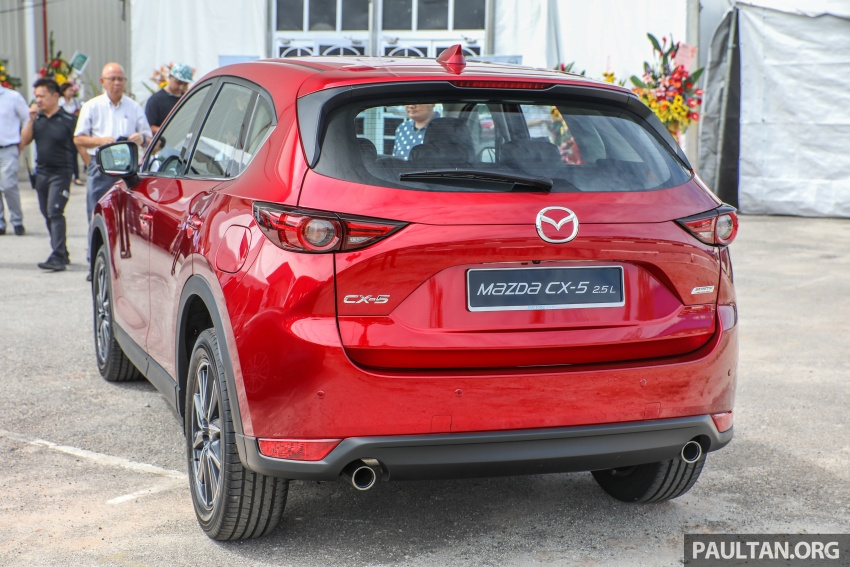 2017 Mazda CX-5 previewed in Malaysia – full spec sheets out, petrol and diesel variants, from RM134k Image #716352