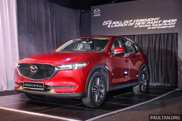 2017 mazda cx-5 previewed in malaysia - full spec sheets out, petrol