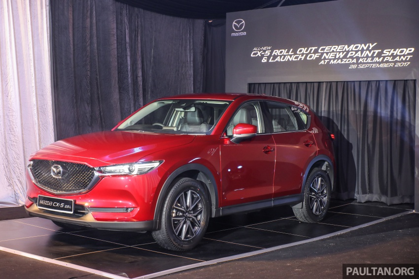 2017 Mazda CX-5 previewed in Malaysia – full spec sheets out, petrol and diesel variants, from RM134k Image #716047