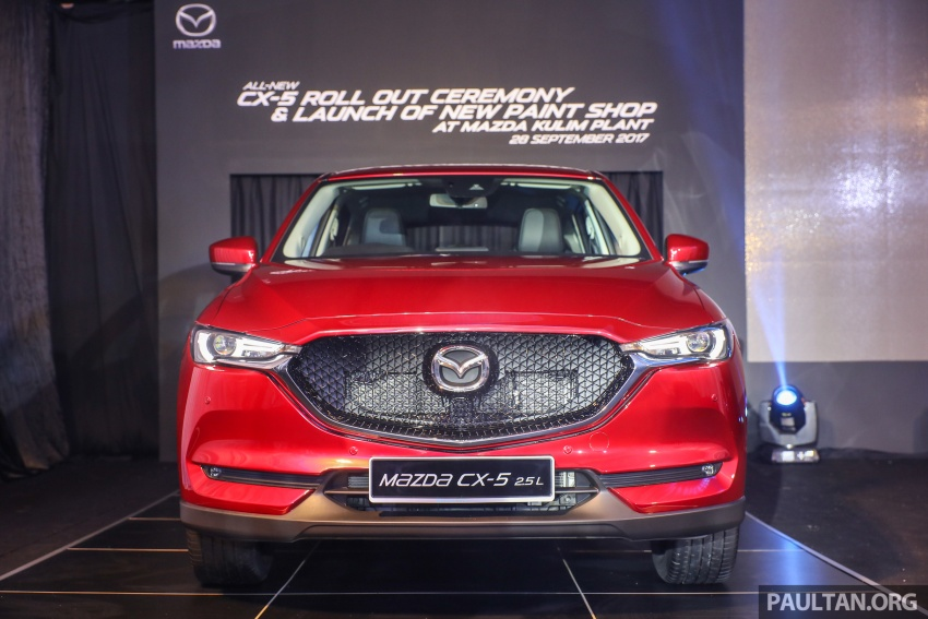 2017 Mazda CX-5 previewed in Malaysia – full spec sheets out, petrol and diesel variants, from RM134k Image #716049