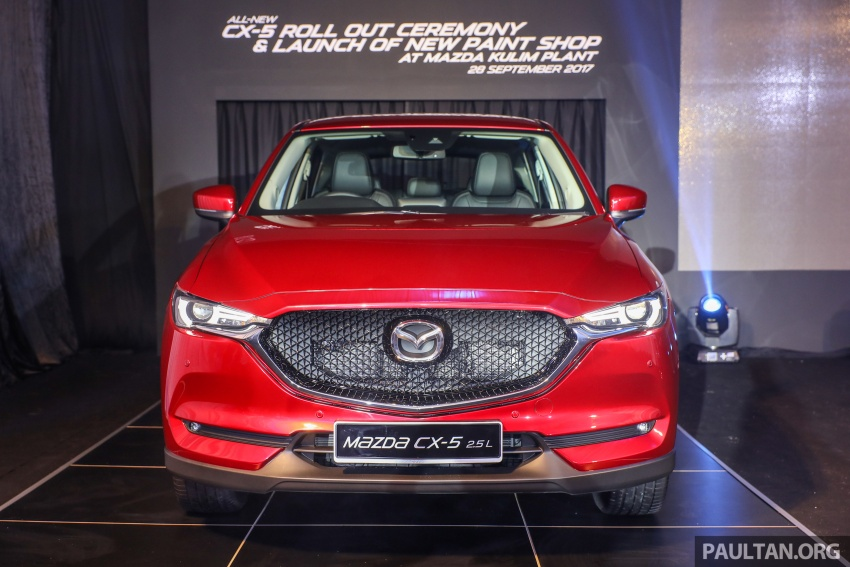 2017 Mazda CX-5 previewed in Malaysia – full spec sheets out, petrol and diesel variants, from RM134k Image #716050