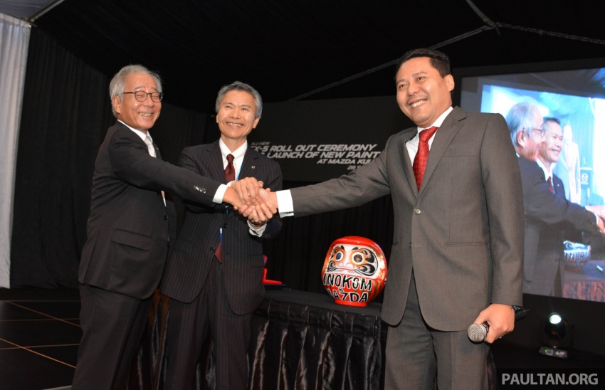 Mazda Malaysia launches new paint centre at Inokom plant – exports to include more ASEAN countries Image #716309
