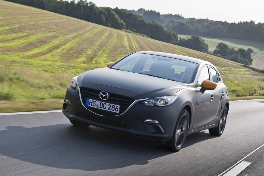 Mazda releases more details of new SkyActiv-X engine with compression ignition, next-gen Mazda 3 platform Image #707128