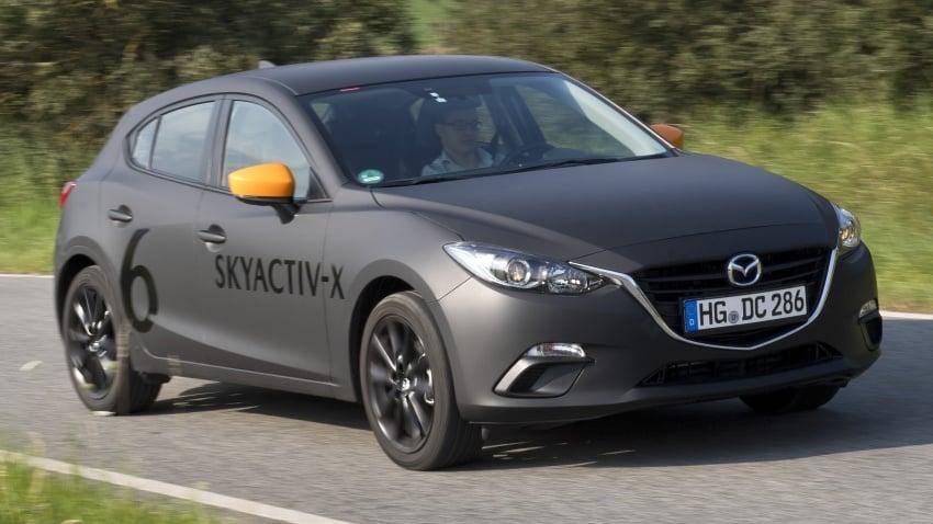 Mazda releases more details of new SkyActiv-X engine with compression ignition, next-gen Mazda 3 platform Image #707129