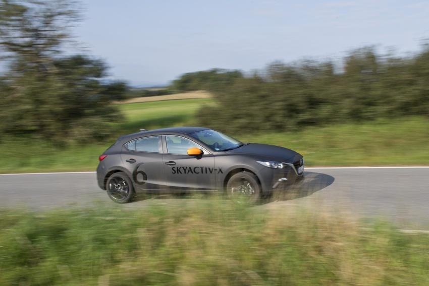 Mazda releases more details of new SkyActiv-X engine with compression ignition, next-gen Mazda 3 platform Image #707131