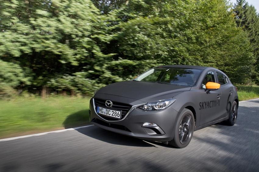 Mazda releases more details of new SkyActiv-X engine with compression ignition, next-gen Mazda 3 platform Image #707139