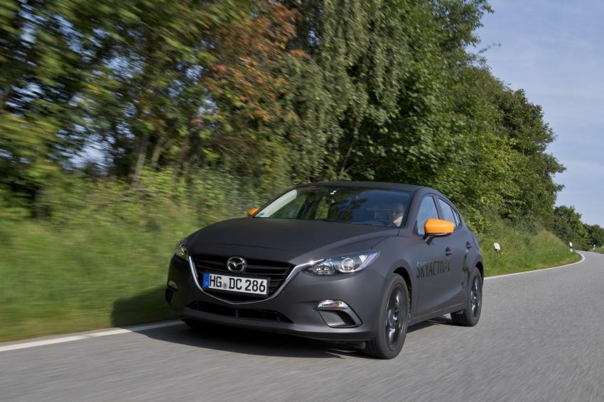 Mazda releases more details of new SkyActiv-X engine with compression ignition, next-gen Mazda 3 platform Image #707140