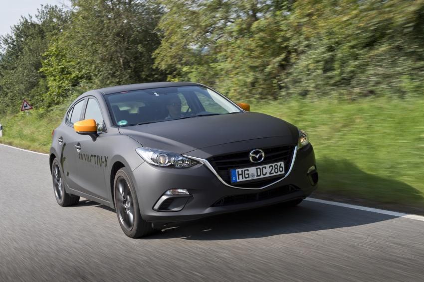 Mazda releases more details of new SkyActiv-X engine with compression ignition, next-gen Mazda 3 platform Image #707141