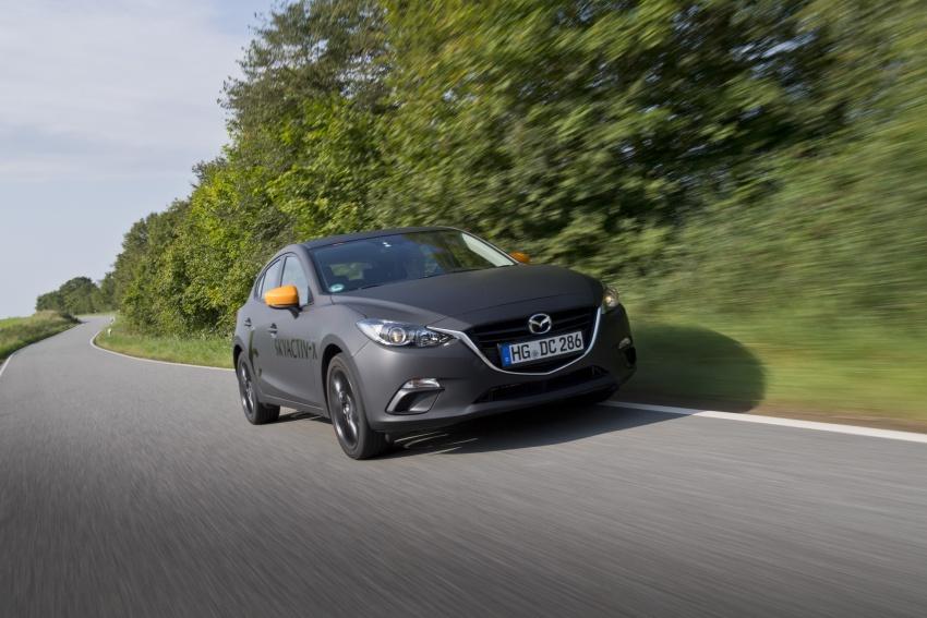 Mazda releases more details of new SkyActiv-X engine with compression ignition, next-gen Mazda 3 platform Image #707142