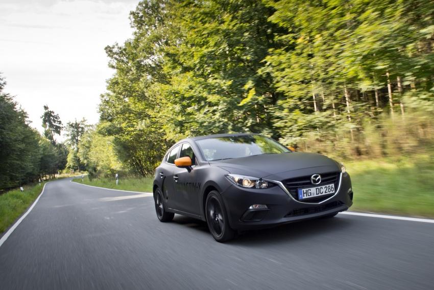 Mazda releases more details of new SkyActiv-X engine with compression ignition, next-gen Mazda 3 platform Image #707143