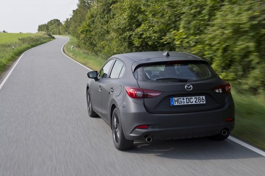 Mazda releases more details of new SkyActiv-X engine with compression ignition, next-gen Mazda 3 platform Image #707144